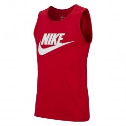 Sportswear Tank Icon Futura Erkek Kırmızı Antrenman Atleti