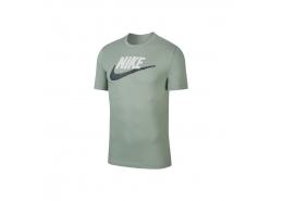 Sportswear Brand Mark Erkek Yeşil Tişört