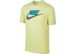 Sportswear Brand Mark Erkek Sarı Tişört