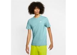 Nike Sportswear Club Erkek Mavi Tişört (AR4997-382)