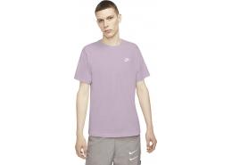 Nike Sportswear Club Erkek Mor Tişört (AR4997-576)