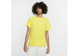 Sportswear Club Erkek Sarı Günlük Tişört