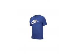 Sportswear Icon Futura Erkek Mavi Tişört (AR5004-430)