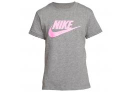 Basic Futura Çocuk Gri Spor Tişört