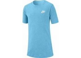 Sportswear Emb Futura Çocuk Mavi Tişört (AR5254-470)