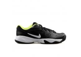 Court Lite 2 Erkek Sert Kort Siyah Tenis Ayakkabısı