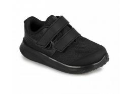 Star Runner 2 Çocuk Siyah Spor Ayakkabı (AT1803-003)