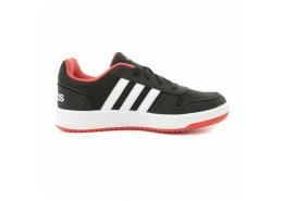 Hoops 2.0 Çocuk Siyah Spor Ayakkabı