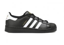 Superstar Çocuk Siyah Spor Ayakkabı (BA8379)