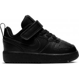 Court Borough Low 2 Çocuk Siyah Spor Ayakkabı (BQ5453-001)
