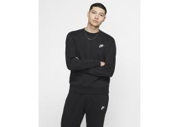Sportswear Club Fleece Crew Erkek Siyah Sweatshirt (BV2662-010)