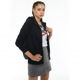 Sportswear Essential Kadın Siyah Sweatshirt