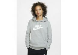 Sportswear Essential Kadın Gri Sweatshirt