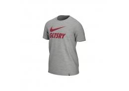 Galatasaray Ground Erkek Gri Futbol Tişörtü