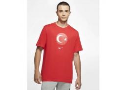 Türkiye Kırmızı Erkek Futbol Tişörtü