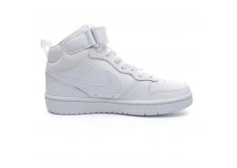 Court Borough Mid 2 Çocuk Beyaz Sneaker