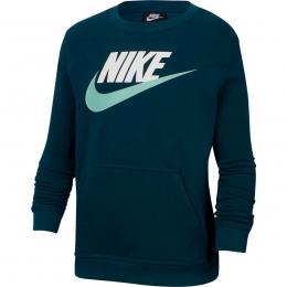 Sportswear Club Çocuk Yeşil Sweatshirt