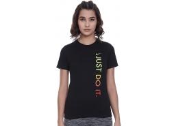 Sportwear Just Do İt Çocuk Siyah Tişört (CU4571-100)