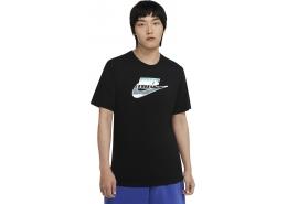 Sportswear Brandmark Erkek Siyah Tişört (CV9874-010)