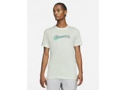 Nike Dri-FIT Erkek Yeşil Koşu Tişörtü (CW0945-394)