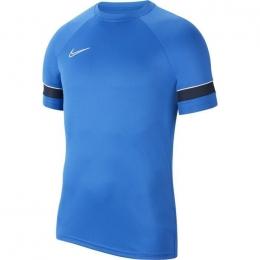 Academy 21 Erkek Mavi Futbol Tişört (CW6101-463)