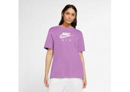 Sportswear Air Boyfriend Kadın Mor Tişört (CZ8614-591)