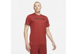 Nike Pro Erkek Kırmızı Tişört (DA1587-689)