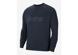 Sportswear FC Barcelona French Terry Erkek Lacivert Sweatshirt (S212406-001)