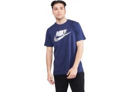 Sportswear Brand Mark Erkek Mavi Tişört (DB6527-410)