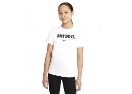 Nike Sportswear Çocuk Beyaz Tişört (DC7792-100)