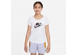 Nike Sportswear Çocuk Beyaz Tişört (DH5865-100)