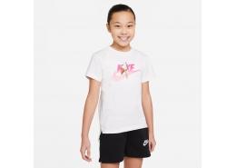 Sportswear Graphic Ice Cream Çocuk Beyaz Tişört (DH5912-100)
