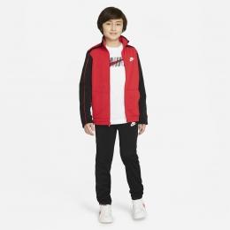 Futura Poly Cuff Çocuk Kırmızı Eşofman Takımı (DH9661-657)