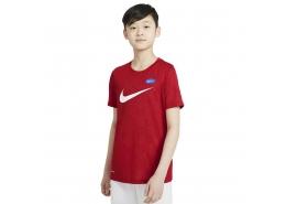 Sportswear Dri Fit Çocuk Kırmızı Futbol Tişört (DJ9811-657)