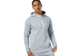 Reebok Te Marble Big Logo Erkek Gri Sweatshirt