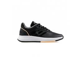 Courtsmash Kadın Siyah Tenis Ayakkabısı