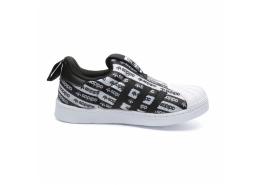 Superstar 360 Çocuk Siyah Spor Ayakkabı