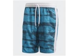 3-Stripes CLX Erkek Mavi Mayo
