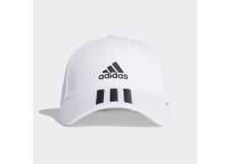 adidas 3-Stripes Twill Beyaz Beyzbol Şapkası (FQ5411)