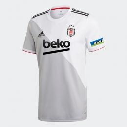 Beşiktaş JK 20/21 Erkek Beyaz İç Saha Forması