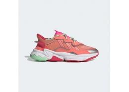 Ozweego Kadın Kırmızı Koşu Ayakkabısı