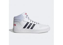 Hoops 2.0 Mid Unisex Beyaz Spor Ayakkabı
