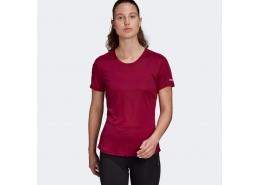 Run It Kadın Bordo Koşu Tişörtü