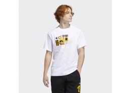 Internat Erkek Beyaz Spor Tişört