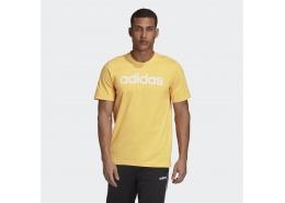 Essentials Linear Logo Erkek Sarı Tişört