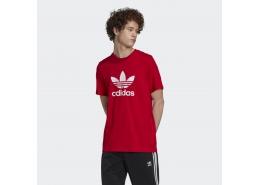 Trefoil Erkek Kırmızı Spor Tişört