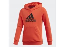Must Haves Badge Of Sport Kapüşonlu Çocuk Turuncu Sweatshirt