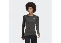Runner Uzun Kollu Kadın Siyah Üst