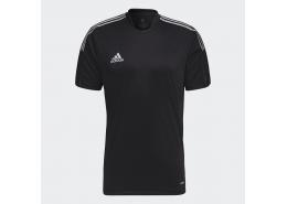 Tiro Reflective Erkek Siyah Futbol Forma (GQ1037)