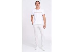 Clark Erkek Beyaz Kanvas Pantolon